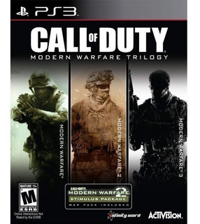 Call Of Duty Modern Warfare Ps3 Trilogia Completa Original