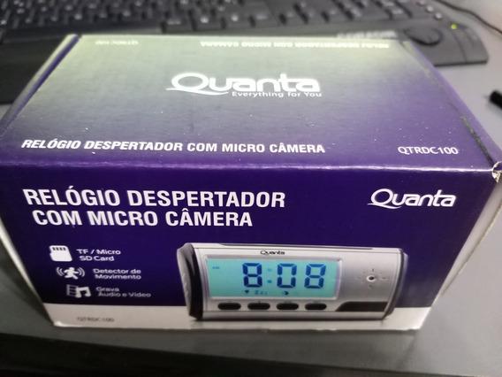 Reloj Despertador Camara Oculta Graba Audio Filma Quanta