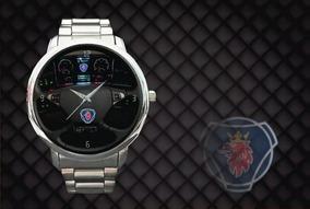 Relógio De Pulso Personalizado Painel Scania Caminhão Top
