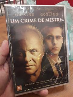 Dvd: Um Crime De Mestre - Anthony Hopkins - Warner Filmes