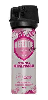 Spray Defesa Pessoal Poly Defensor 50g Em Névoa Defende Ela