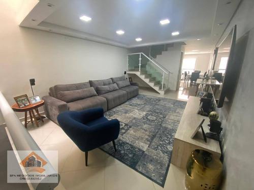 Imagem 1 de 20 de Sobrado Com 3 Dormitórios À Venda, 169 M² Por R$ 890.000,00 - Vila Aricanduva - São Paulo/sp - So0151