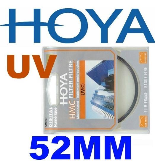 Filtro Uv Hoya Hmc 52mm + (caneta Lenspen Gratis) Kit Veja!