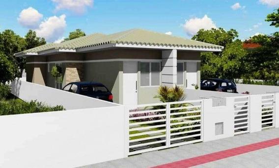 Casa Em Potecas, São José/sc De 50m² 2 Quartos À Venda Por R$ 169.900,00 - Ca232011