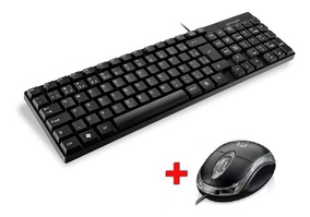 Kit Teclado E Mouse Básico Com Fio Usb Qualidade Multilaser