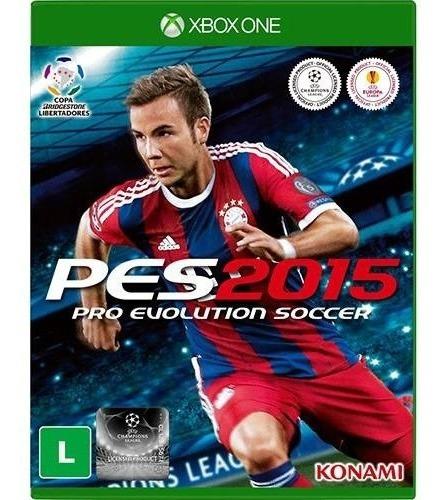 Pes 2015 15 - Xbox One Midia Fisica Original E Lacrado Novo