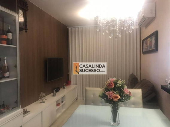 Apartamento Com 2 Dormitórios À Venda, 72 M² Por R$ 490.000 - Jardim Panorama - São José Do Rio Preto/sp - Ap5980