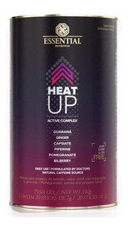 Heat Up 140g ( 20 Unidades De 7 G ) Essential Nutrition