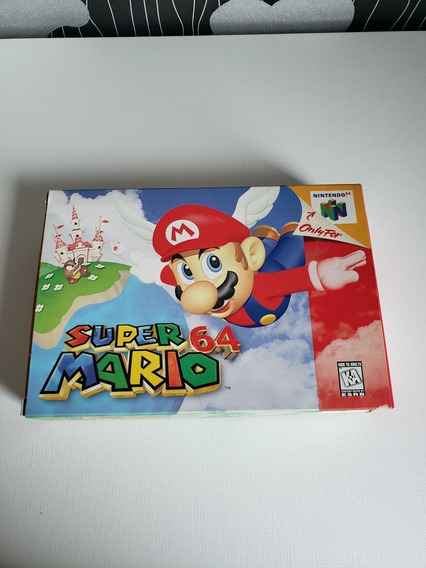 Super Mario 64 Nintendo 64 Na Caixa Em Ótimo Estado
