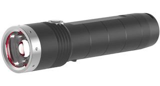 Lanterna Média Ledlenser Mt10 - Com 1000 Lúmens. Recarregável Na Própria Lanterna. Completa