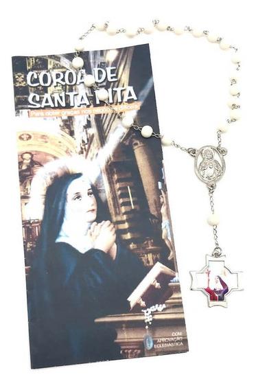 Terço Coroa De Santa Rita De Cássia