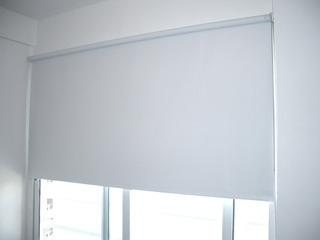 Cortina Roller Blackout 150 X 120 Cm Blanco