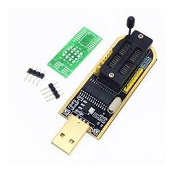 Gravador Ch341a Memoria Usb Bios Eprom Flash 24x25x (000338)