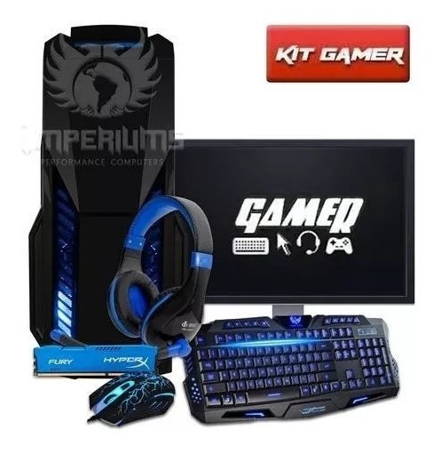 Cpu Gamer + Monitor19 Amd A4 7300/ 1tb/ 16gb/ Hd 8470d/ Hdmi