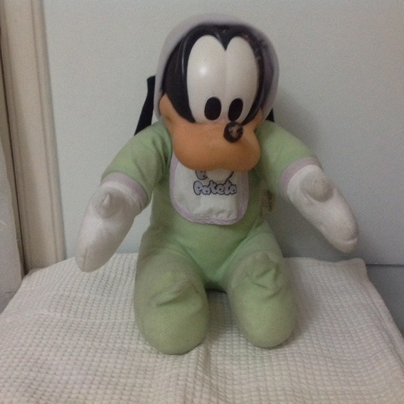 Boneco De Pelúcia Pateta Baby - 30 Cm Sentado