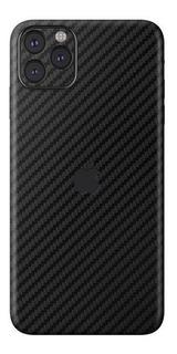 Pelicula Skin Traseira Carbono iPhone 11 6.1 + Pl Camera