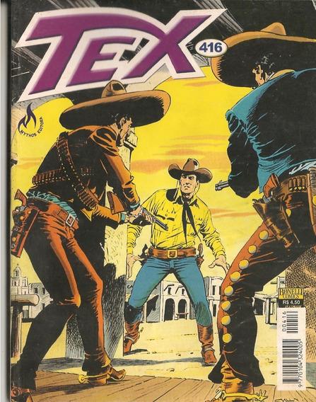 Hq Tex Willer Nº416 O Ranger Traidor Mythos Editora