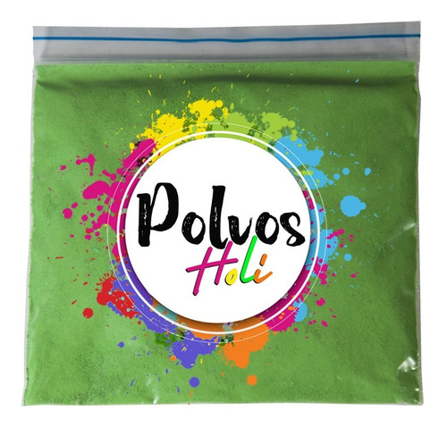 Polvo Holi / Colores Variados (75 Gramos)