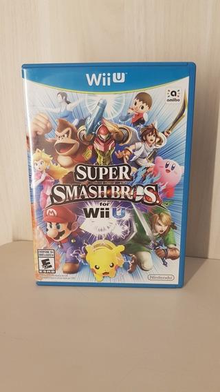 Super Smash Bros Wii U - Game Completo Impecável