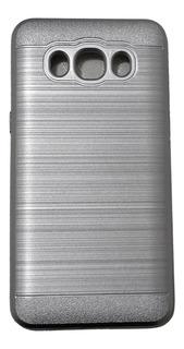 Capa J5 Metal Anti Impacto Escovada Mais Películda De Vidro
