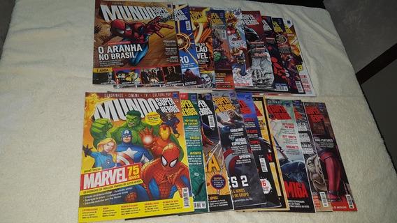 Revista Mundo Dos Super-heróis Nº 56-100 Ed. Europa Avulsas