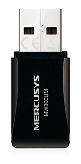 Adaptador Wifi Usb 300mbps Mercusys Mw300um