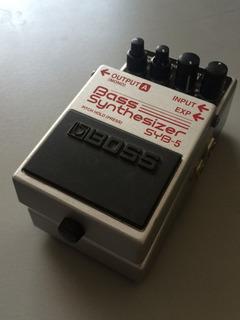 Bass Synthesizer Boss Pedal Sintetizador Para Bajo