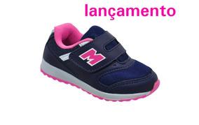 Tenis Infantil Rosa Meninas Minipe Ref Mp7161