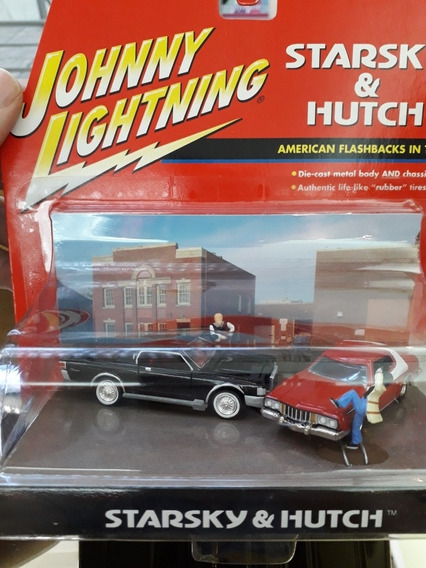 Diorama Johnny Lightning Starsky Y Hutch Escala 1/64 Diorama