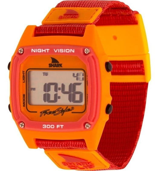 Relógio Freestyle Shark Clip - Pink/orange