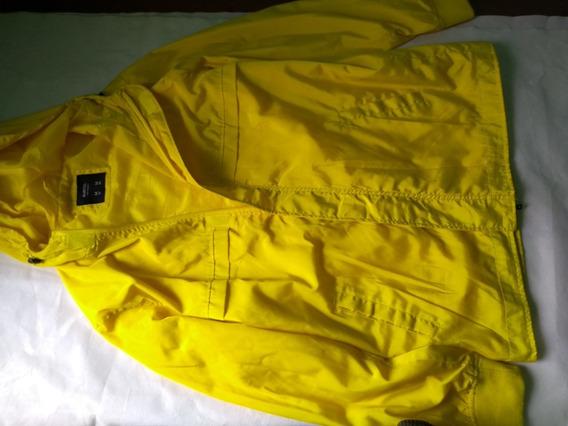 Corta Vento / Capa De Chuva Amarelo