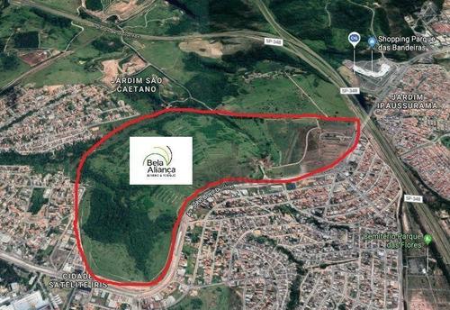 Terreno À Venda, 250 M² Por R$ 153.750,00 - Jardim Ipaussurama - Campinas/sp - Te4492