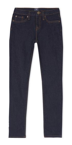 Jeans Niña Pantalón Mezclilla Super Skinny Bolsillos Gap