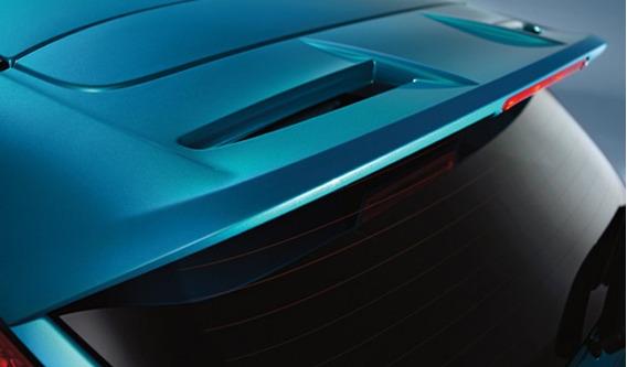 Spoiler De Techo Trasero Ford Fiesta Kinetic Design 11/17