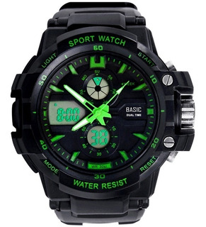 Reloj Skmei 0990 Deportivo Militar Sumergible Dual Con Caja