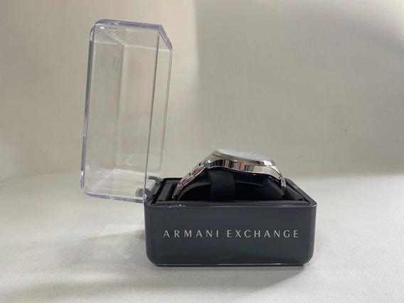 Reloj Armani Exchange Nuevo Plateado Hombre Envío Gratis