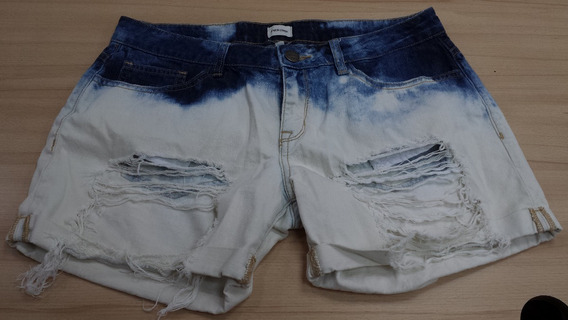 Short Dama Jean Sneak Peek Original Usa Talla M