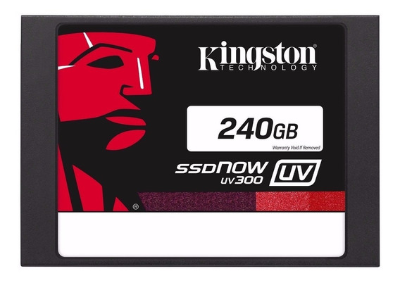 Hd Ssd 240 Gb Sata 3 Kingston Uv300