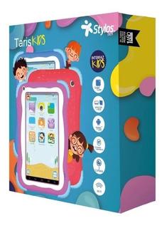 Tablet Stylos Taris Kids, Quad-core, 1gb, 8gb Uso Rudo