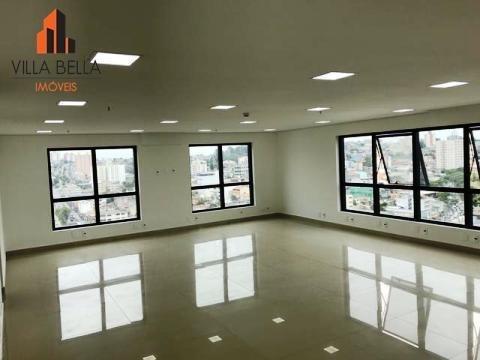 Sala Para Alugar, 92 M² Por R$ 2.300/mês - Centro - Diadema/sp - Sa0526