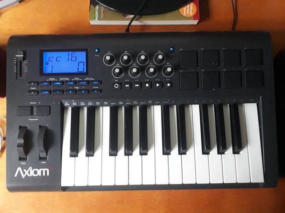 Controlador Midi M-audio Axiom 25 (segunda Geração)