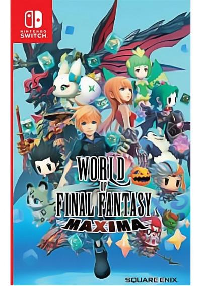 World Of Final Fantasy Maxima Switch Mídia Física Novo