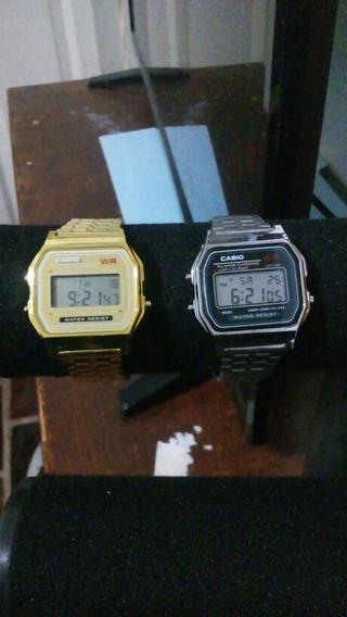 Reloj Casio Vintage Oro Y Plata
