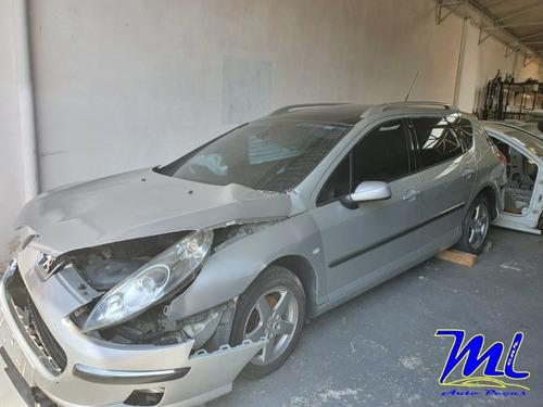 (1)sucata Peugeot 407 Sw 2.0 2006( Retirada De Peças)