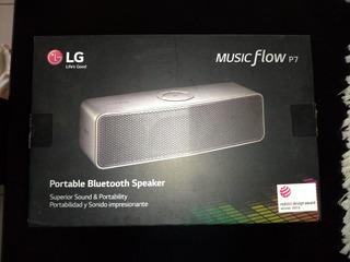 Lg Music Flow P7, Parlante Portátil Bluetooth
