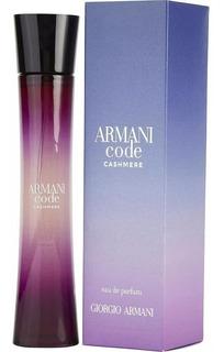 Perfume Armani Code Cashmere Edp 75ml Envio Gratis Original