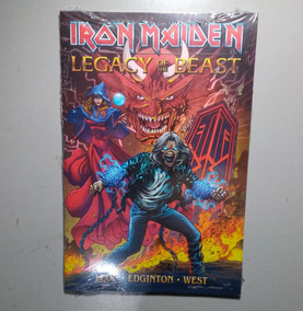 Hq Iron Maiden - Gibi Legacy Of The Beast - Hq Importado