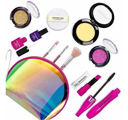 Imagen 1 de 7 de Kit De Maquillaje Seckton Para Niñas, 11 Piezas, No Tóxico,