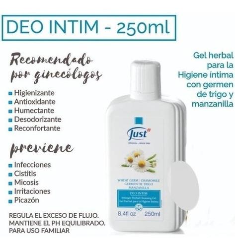 Intim precio deo just Productos Naturales: