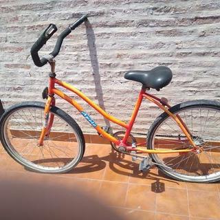 Bicicleta Playera Mujer Rodado 26 Freno Contrapedal